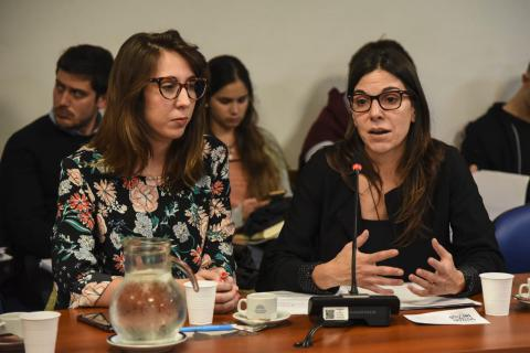Alejandra Freire y Martina Cirimele